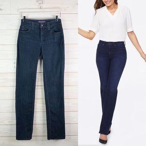 NYDJ Relaxe Straight Leg Jeans Denim Size 2